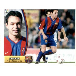 Iniesta Rookie Liga Este 2003-04 Andrés Iniesta