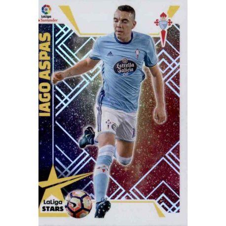 Iago Aspas La Liga Stars 9 Ediciones Este 2017-18