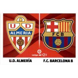 Almería / FC Barcelona B Liga 123 2 Ediciones Este 2017-18