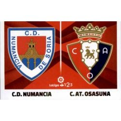 Numancia / Osasuna Liga 123 7 Ediciones Este 2017-18