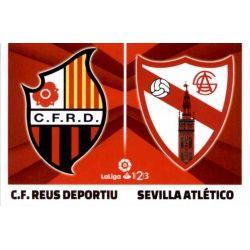 Reus / Sevilla Atlético Liga 123 9 Ediciones Este 2017-18