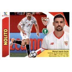 Nolito Sevilla UF28 Ediciones Este 2017-18