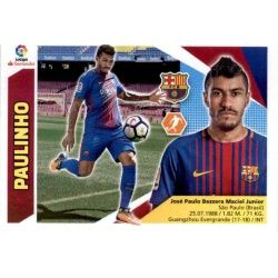 Paulinho Barcelona UF35 Ediciones Este 2017-18