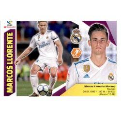 Marcos Llorente Real Madrid UF39 Ediciones Este 2017-18