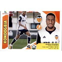 Kondogbia Valencia UF48 Ediciones Este 2017-18