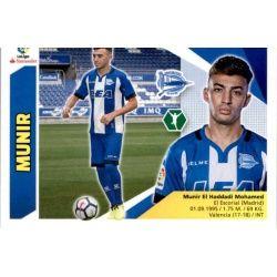Munir Alavés UF52 Ediciones Este 2017-18