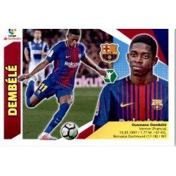 Dembélé Barcelona UF60 Ediciones Este 2017-18