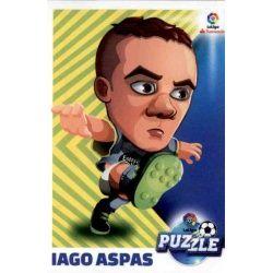 Iago Aspas Puzzle 5 Ediciones Este 2017-18