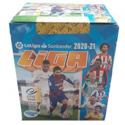 Panini Liga Este 2020-21 (50 Pack) Sealed Boxes