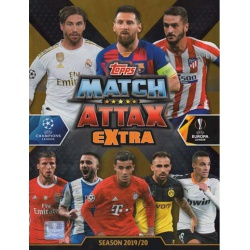 Collection Topps Match Attax Extra 2019-20 Complete Collections