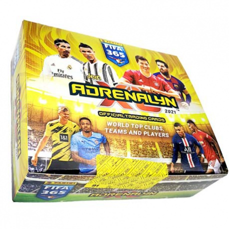 Caja Panini FIFA 365 Adrenalyn XL 2020-21 (24 Sobres) Cajas de Cromos