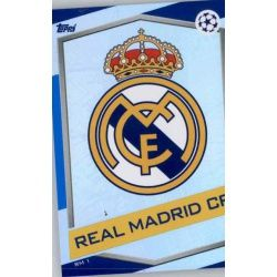 Escudo Real Madrid RM1 Match Attax Champions 2016-17