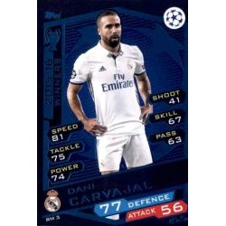 Dani Carvajal Real Madrid RM3 Match Attax Champions 2016-17