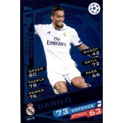 Danilo Real Madrid RM8 Match Attax Champions 2016-17