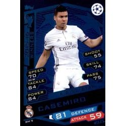 Casemiro Rising Star RM9 Match Attax Champions 2016-17