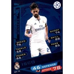Isco Real Madrid RM10 Match Attax Champions 2016-17
