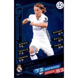 Luka Modrić Real Madrid RM11 Match Attax Champions 2016-17