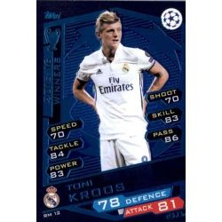 Toni Kroos Real Madrid RM12 Match Attax Champions 2016-17