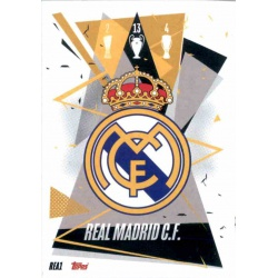 Team Badge Real Madrid REA1 Match Attax Champions International 2020-21
