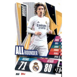 Luka Modric All Rounder Real Madrid REA3 Match Attax Champions International 2020-21