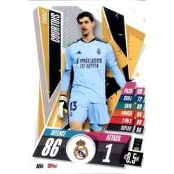 Thibaut Courtois Real Madrid REA4 Match Attax Champions International 2020-21
