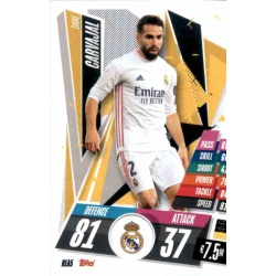 Dani Carvajal Real Madrid REA5 Match Attax Champions International 2020-21