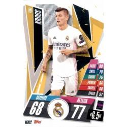 Toni Kroos Real Madrid REA12 Match Attax Champions International 2020-21