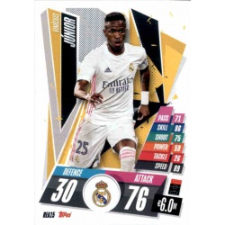 Vinicius Junior Real Madrid REA15 Match Attax Champions International 2020-21