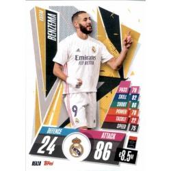 Karim Benzema Real Madrid REA18 Match Attax Champions International 2020-21