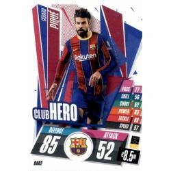 Gerard Pique Club Hero Barcelona BAR2 Match Attax Champions International 2020-21