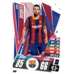 Sergio Busquets Barcelona BAR9 Match Attax Champions International 2020-21