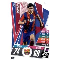Sergi Roberto Barcelona BAR10 Match Attax Champions International 2020-21