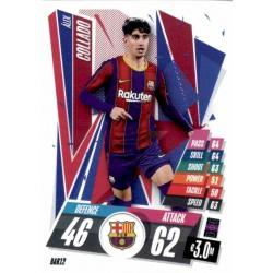 Alex Collado Barcelona BAR12 Match Attax Champions International 2020-21