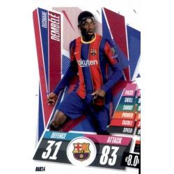 Ousmane Dembele Barcelona BAR14 Match Attax Champions International 2020-21