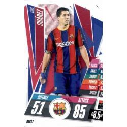 Luis Suarez Barcelona BAR17 Match Attax Champions International 2020-21