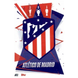 Escudo Atlético Madrid ATL1 Match Attax Champions International 2020-21