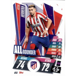 Hector Herrera All Rounder Atlético Madrid ATL3 Match Attax Champions International 2020-21