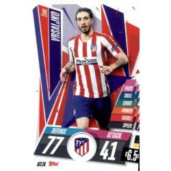 Sime Vrsaljko Atlético Madrid ATL18 Match Attax Champions International 2020-21