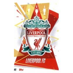 Escudo Liverpool LIV1 Match Attax Champions International 2020-21