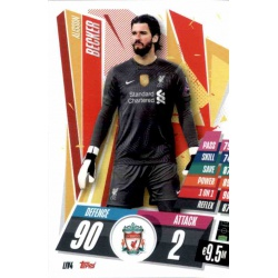 Alisson Becker Liverpool LIV4
