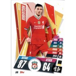 Andrew Robertson Liverpool LIV5 Match Attax Champions International 2020-21