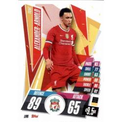 Trent Alexander-Arnold Liverpool LIV6 Match Attax Champions International 2020-21