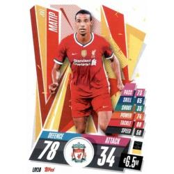 Joel Matip Liverpool LIV10 Match Attax Champions International 2020-21