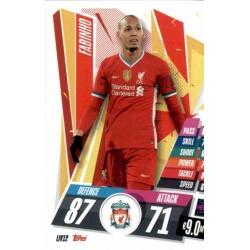 Fabinho Liverpool LIV12 Match Attax Champions International 2020-21