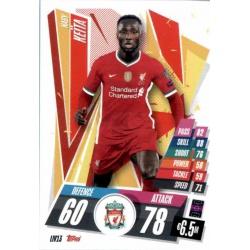 Naby Keita Liverpool LIV13 Match Attax Champions International 2020-21