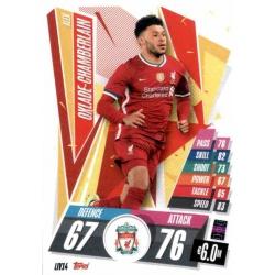 Alex Oxlade-Chamberlain Liverpool LIV14 Match Attax Champions International 2020-21