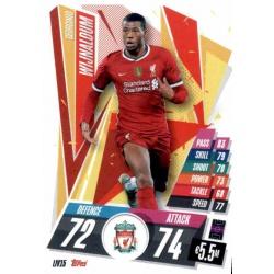 Georginio Wijnaldum Liverpool LIV15 Match Attax Champions International 2020-21