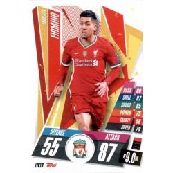 Roberto Firminho Liverpool LIV16 Match Attax Champions International 2020-21