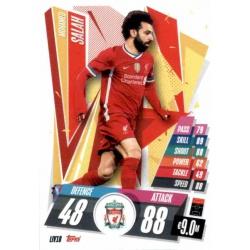 Mohammed Salah Liverpool LIV18 Match Attax Champions International 2020-21