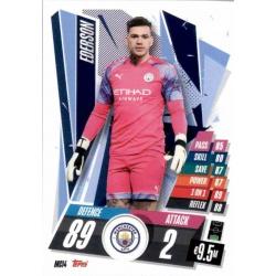 Ederson Manchester City MCI4 Match Attax Champions International 2020-21